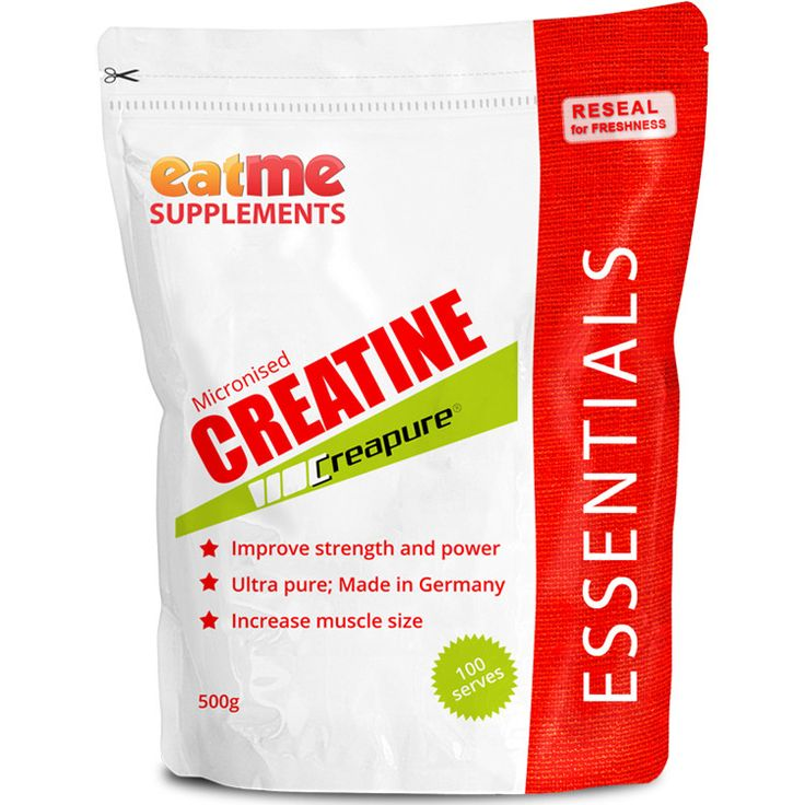 Eat Me Creapure® Creatine 500g from Superior Supplements Taking creatine, even in the short term, significantly increases strength, endurance, concentration and recovery. Made to strict quality standards in Germany, Creapure® Creatine is world-renowned to be the purest, safest and best quality micronized Creatine Monohydrate available. Creatine also helps support your immune system.