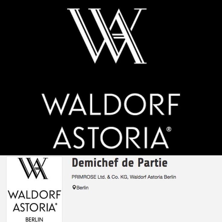 Im Herzen der Berliner City präsentiert sich das neu erbaute Waldorf Astoria Berlin. Sie wollen die außergewöhnliche Chance als Koch im neuen Astoria Waldorf nutzen und das Team als Demichef de Partie verstärken? Dann schnell bewerben!  #starcookers #team #spaß #Job #recruitment #jobs #neuerjob #jobsearch #newjob #jobsuche #jobsderwoche #joboftheweek #Verantwortung #koch #berlin #waldorfastoria