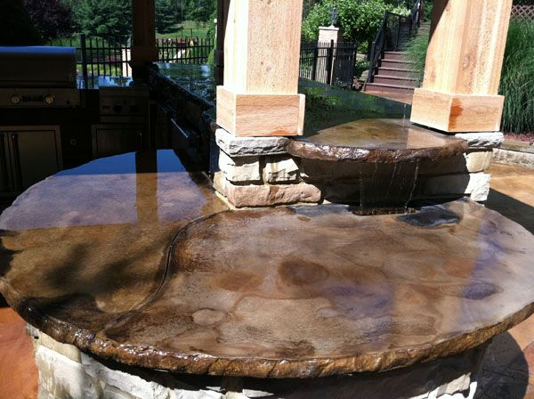 Concrete Countertops Patio Ideas Pinterest