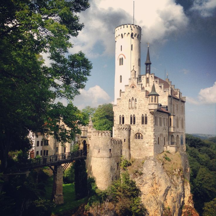 Best Lichtenstein castle Stuttgart Germany