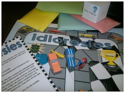 Idioresies - Afrikaanse Idiome Bordspel - Hart van die Huis Afrikaanse taalwerk speletjie