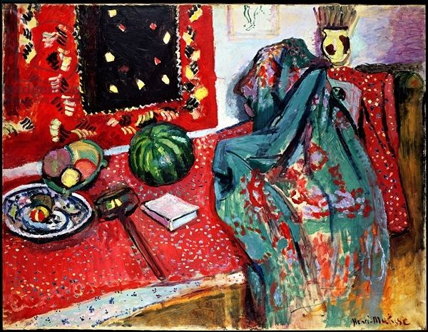 Matisse, Henri (1869-1954) Still Life with a Red Rug, 1906 (oil on canvas)