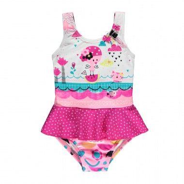 Skirted One-Piece Swimsuit / Maillot une-pièce à jupette Souris Mini