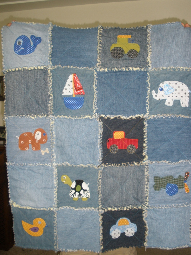 184 Best Machine Quilting Rag Quilts Images On Pinterest