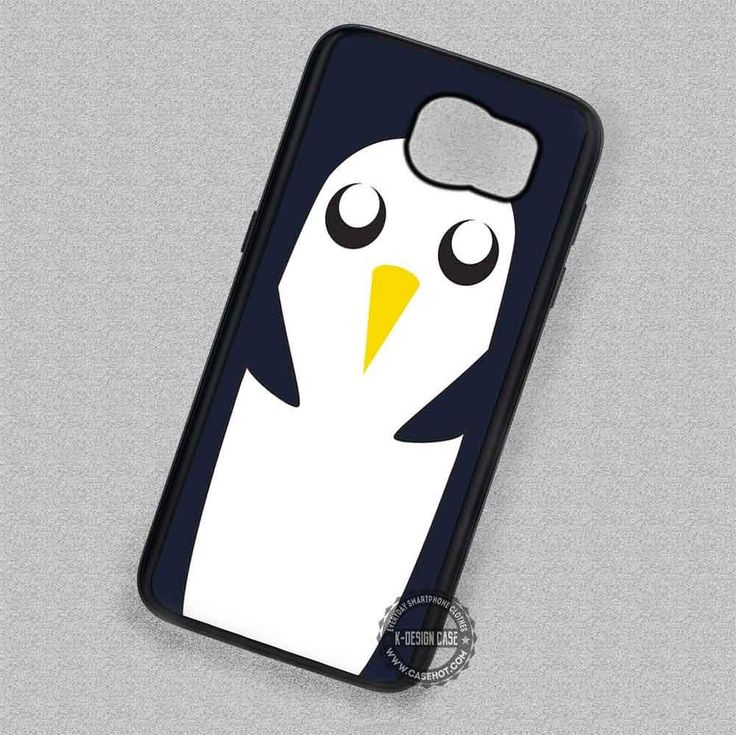 Cute Adventure Time Gunter Face - Samsung Galaxy S7 S6 S5 Note 7 Cases & Covers