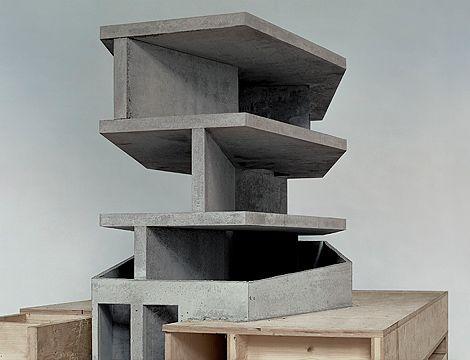 Model, House With One Wall, Zurich, Switzerland (Christian Kerez, 2007)