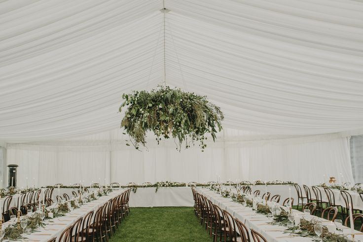 Marquee Wedding at Local at Riccarton House