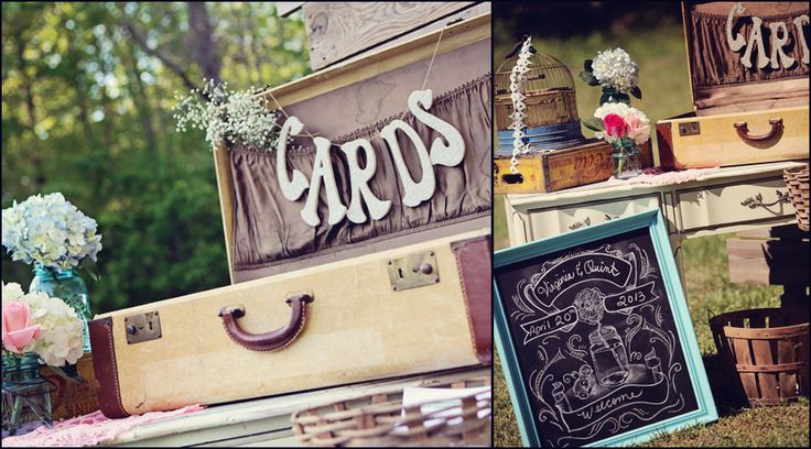 Farm and Filigree's welcoming chalkboard sign can be personalized with your names and wedding date and displayed at your registry table to greet guests as they arrive.
