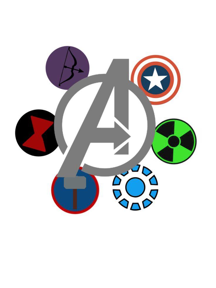 avengers character symbols wwwimgkidcom the image