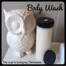The road to loving my Thermomix: Body Wash