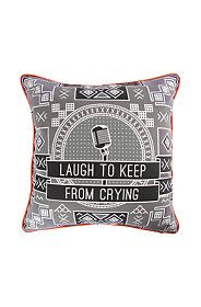 MIA WIDLAKE LAUGH 60X60CM SCATTER CUSHION