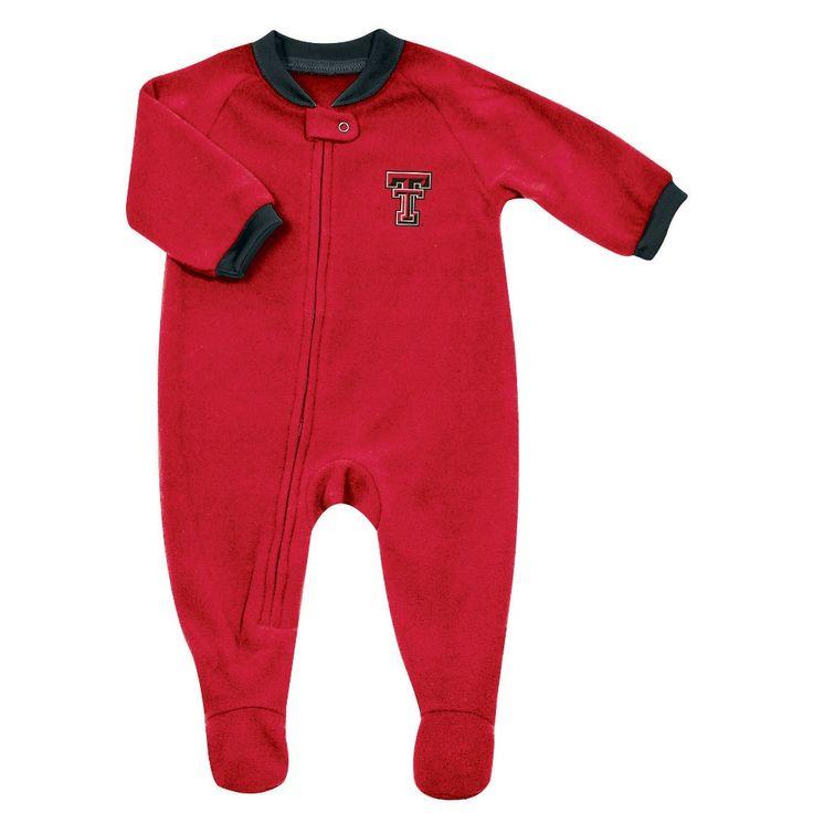 NCAA Child Bodysuits Texas Tech Red Raiders - 0-3 M, Boy's, Multicolored