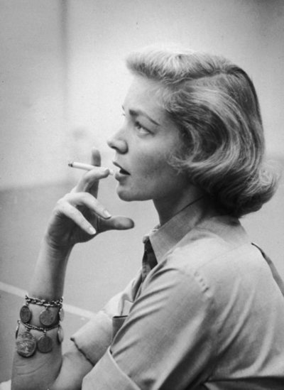 The fantastic Betty Bacall.