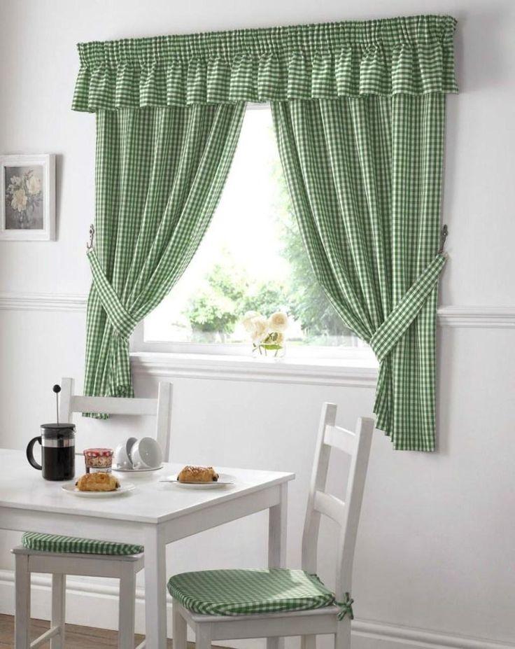 Solid Purple Kitchen Curtains