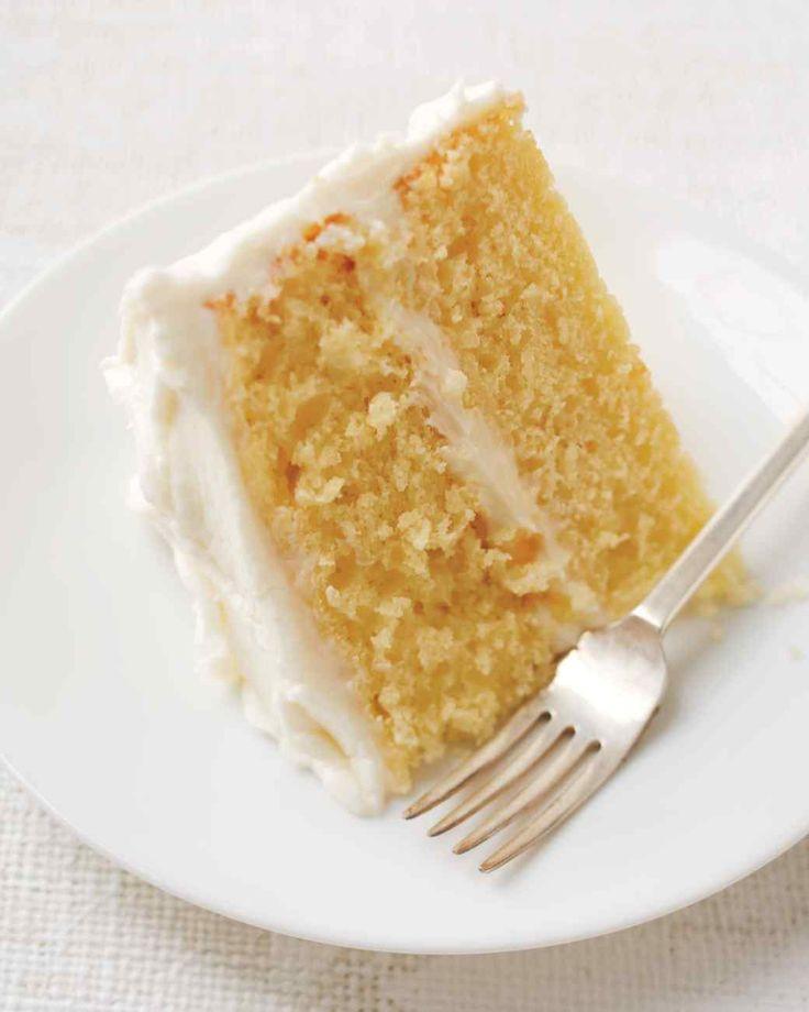 White Layer Cake Recipe Martha Stewart