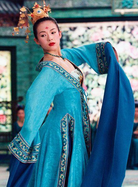 Zhang Ziyi as Xiao Mei from House of Flying Daggers