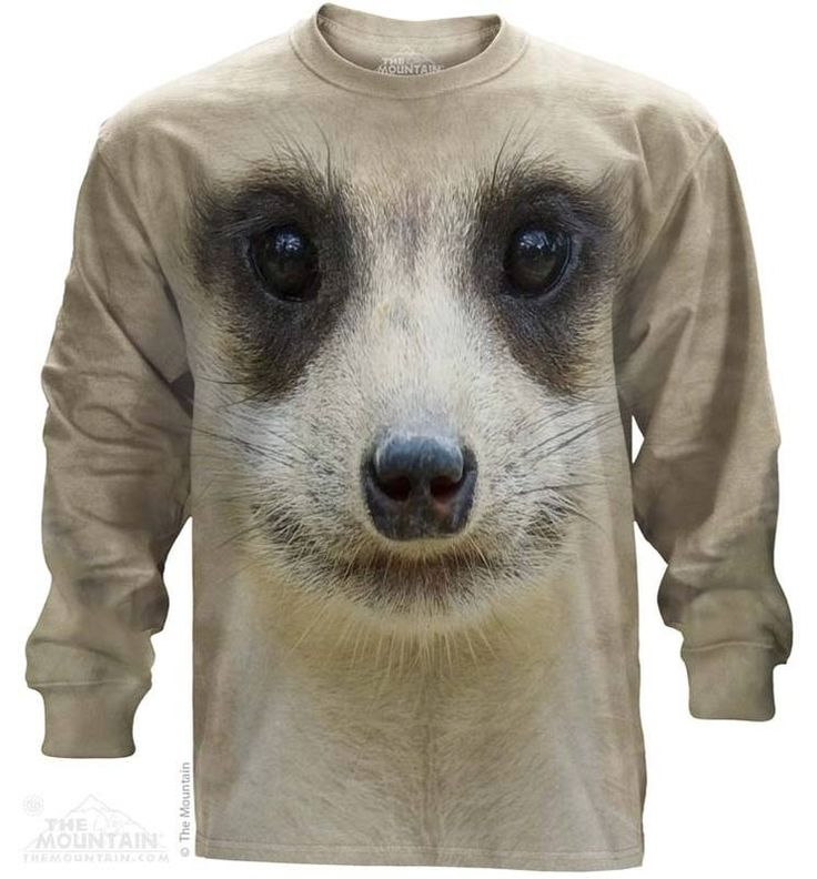 Meerkat Long Sleeve T-Shirt - Womens Clothing - - Women T-Shirt - T-Shirts for women - Mens Clothing - Mens t-shirts - t-shirt for men - Unisex T-Shirts - Cotton T-Shirts - Long Sleeve T-Shirts - Long Sleeve T-Shirt - Christmas Ideas - Presents for Christmas