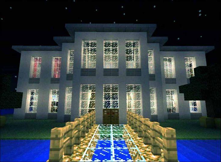 17 mejores ideas sobre casas minecraft en pinterest - Fotos de casas preciosas ...