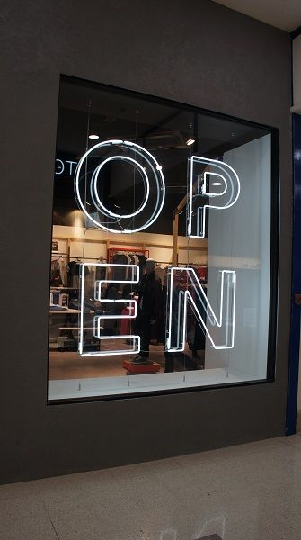 Sign Design Ideas a frame sign Design Showcase New Uk Menswear Chain Open Retail Design World
