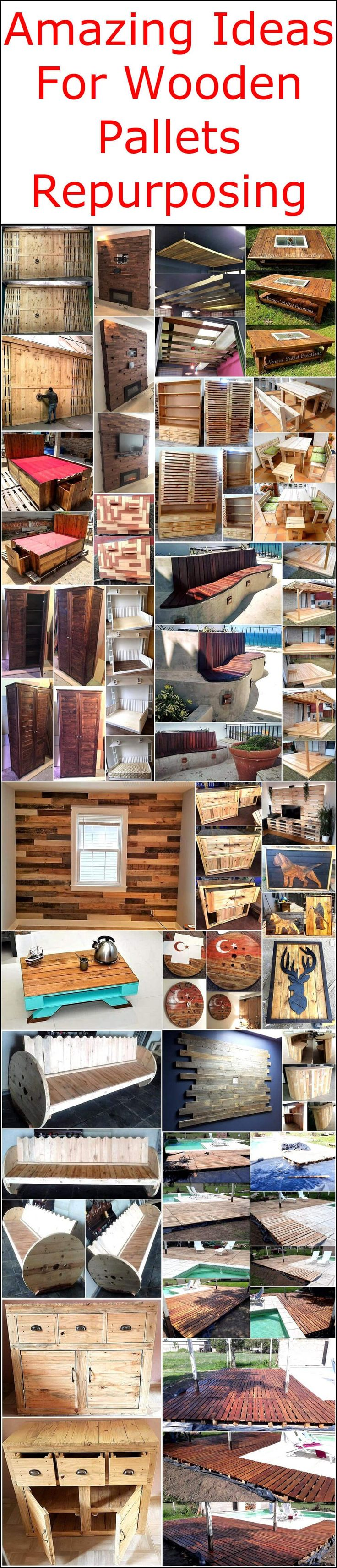 These Amazing Ideas Of Wooden Pallet Repurposing Are Brilliant In Their  Appearance, Are Simple To Design And Also Creative Too.