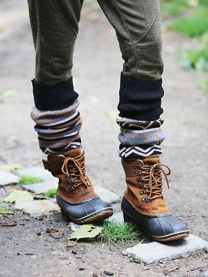 Sorel Winter Fancy Weather Boot at Free People Clothing Boutique