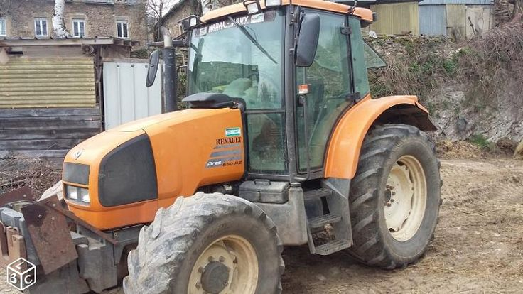 Tracteur renault ares 550 RZ