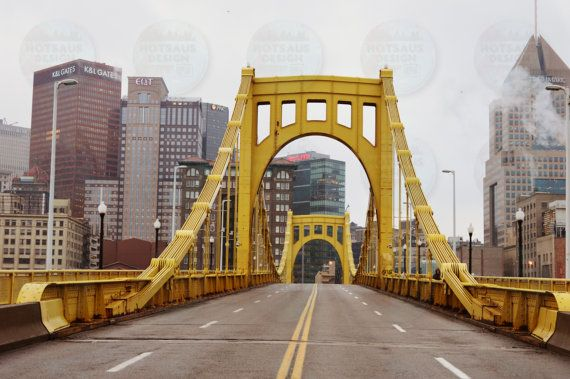 Roberto Clemente Bridge Pittsburgh PNC Park by HotSausDesign