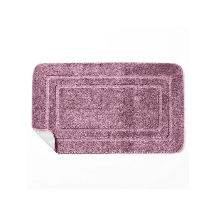 Croft & Barrow® Solid Bath Rug - 30'' x 50'', Red