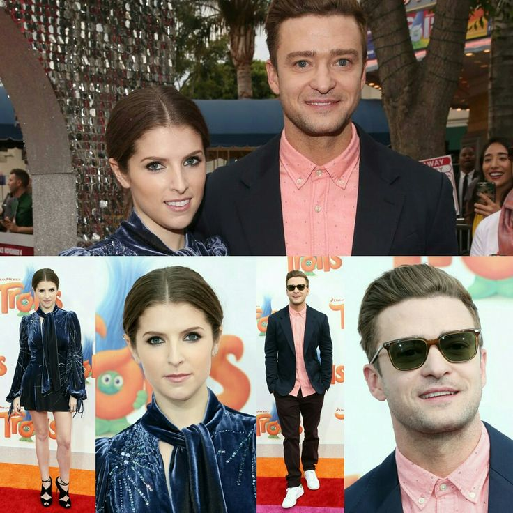 #JustinTimberlake and #AnnaKendrick (in a wonderful #MarcJacobs dress) posed on the rainbow carpet at the LA premiere of #TrollsMovie, yesterday afternoon! (📸 Getty) • • • • • • • • • • • • • • • • • • • • • • • • • • • • • • • • • • •  #JustinTimberlake e #AnnaKendrick (em um maravilhoso vestido #MarcJacobs) posaram no tapete de arco-íris na premiere de LA de #TrollsMovie, ontem à tarde! (📸 Getty)