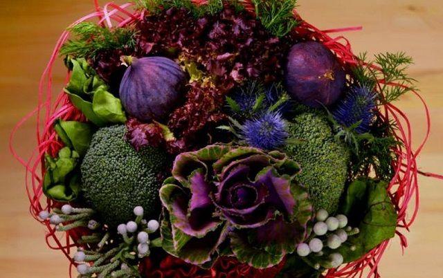 В Петербурге появились букеты из овощей