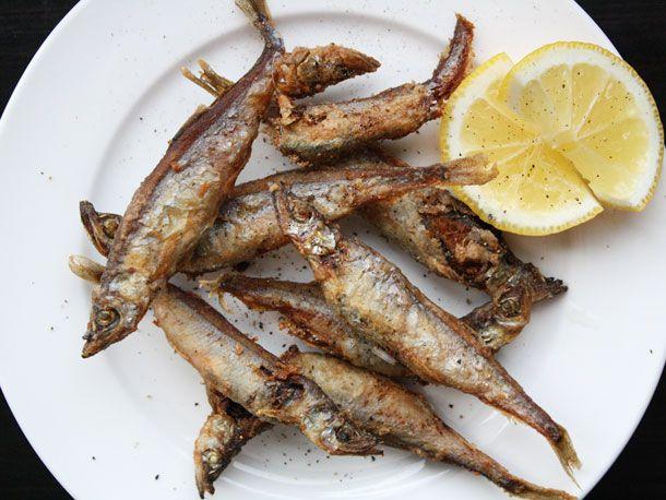 shishamo or other smelt fish