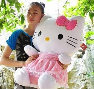 45cm size hello kitty plush toys stuffed soft toys factory supply the best quality the best price freeshipping on AliExpress.com. $27.00