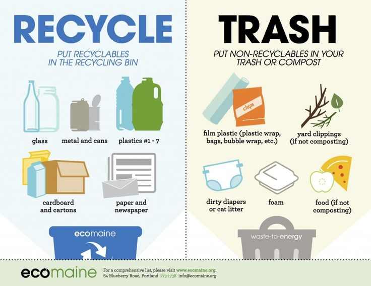 EM What To Recycle Poster
