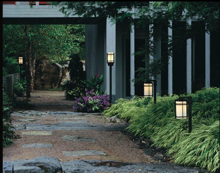 Driveway Entrance Lighting Yard Ideas Pinterest