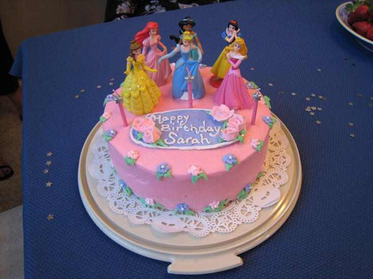 Images Of Cake With A Princes On It