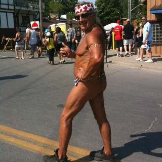 Th th th thong man - Friday the 13th motorcycle rally!!