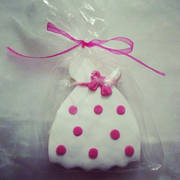 Gelinimizin kınasına yaptığımız şeker hamurundan kurabiye :)