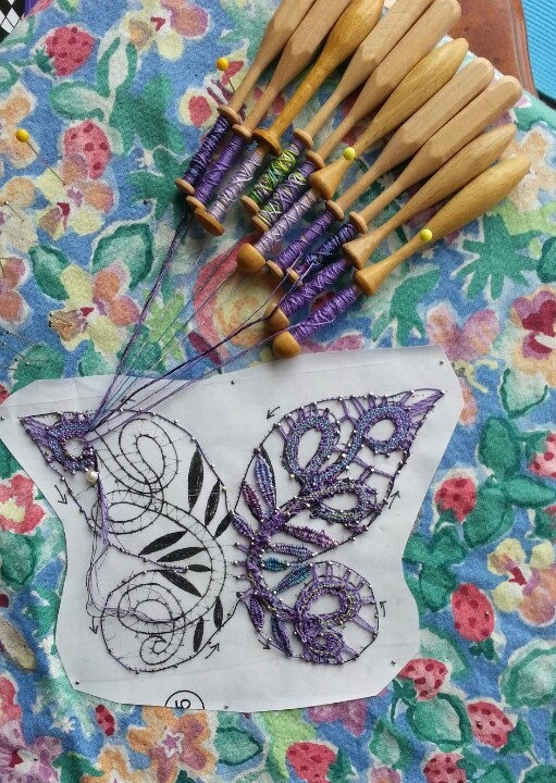 Bobbin lace by Barbara Lower
