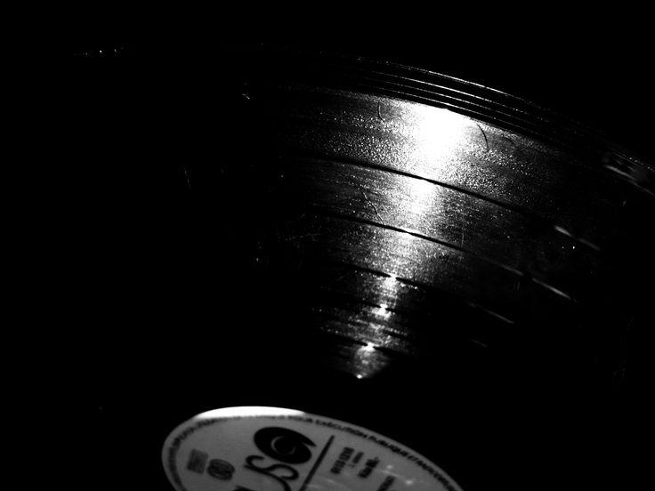 #Vinyl #Music #B&W #ANNsPhoto