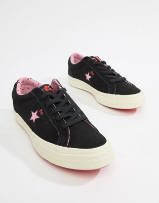 Image 1 of Converse X Hello Kitty One Star Sneakers b04e662d3