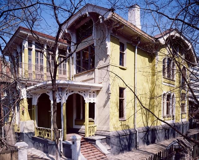 Moscow. House of Nosova to Elektrozavodskaya Street,12, architect L.Kekushev, (1903)