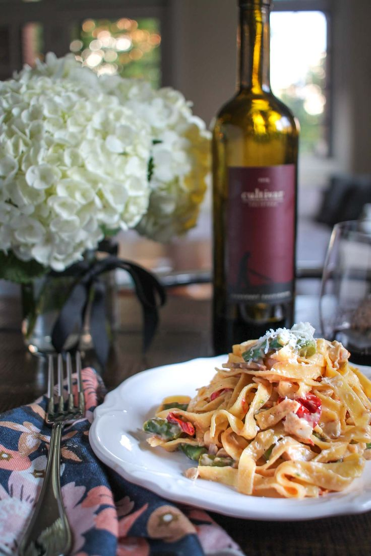 Roasted Vegetable and Chicken Pasta-7