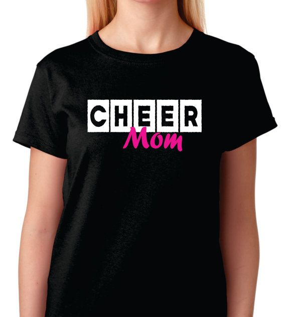 This Behind every Cheerleader shirt is something all cheer moms can relate to. They are so fun but so darn expensive! Heres your cheer mom t-shirt!