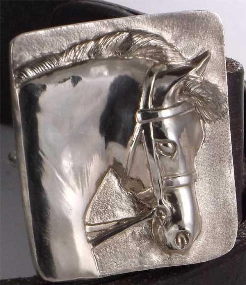 Welsh Pony Head Belt Buckle Bronze – Jamies Horse Jewelry