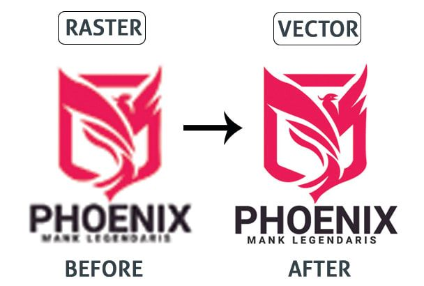 Arif 795 I Will Vectorize Logo Or Image Into A Vector With Fast Delivery For 5 On Fiverr Com Bitmap To Vector Vector Vector Logo