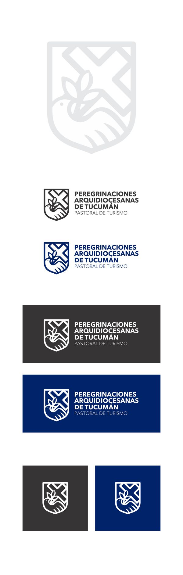Isologotipo Pastoral de Turismo de Tucumán on Behance