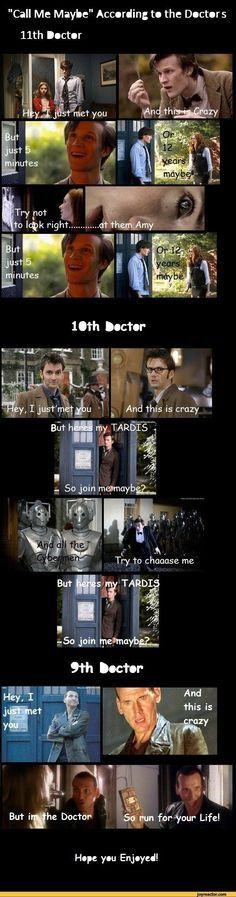 Doctor who humor :3