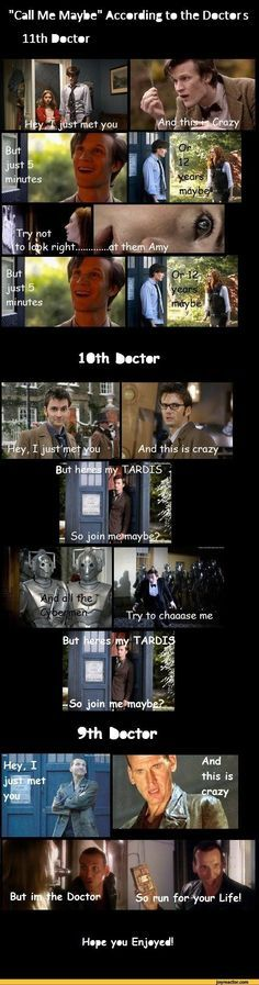 Doctor who humor :3