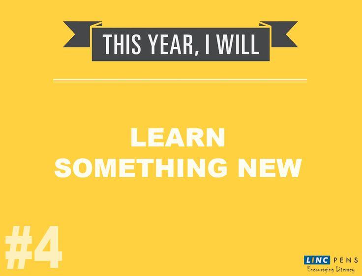 Keep Learning #Top10 #NewYearResolution #4