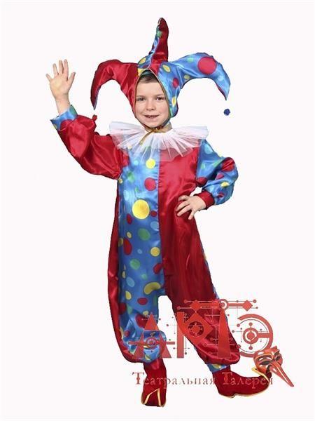 Новогодние костюмы детям своими руками шут